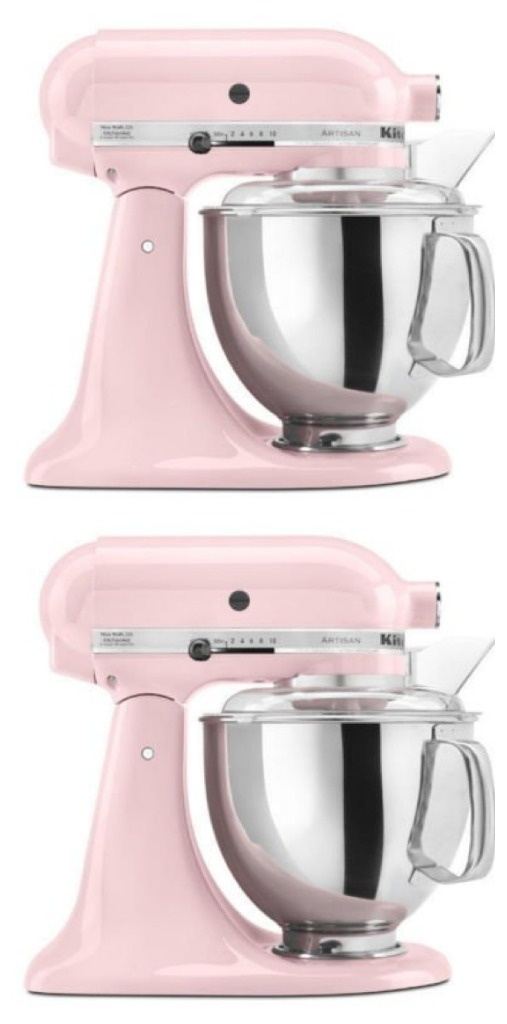 Just a little {pink - if you chose it} mixer love...