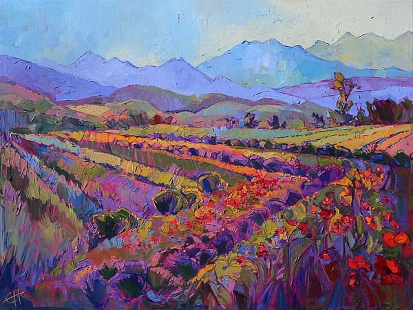 Northwest Color Painting by Erin Hanson - Northwest Color Fine Art Prints and Posters for Sale