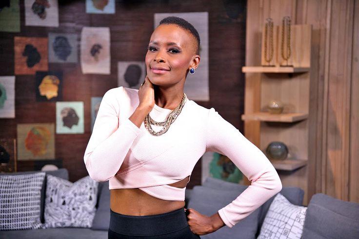 Lovely lady Bonnie Mbuli