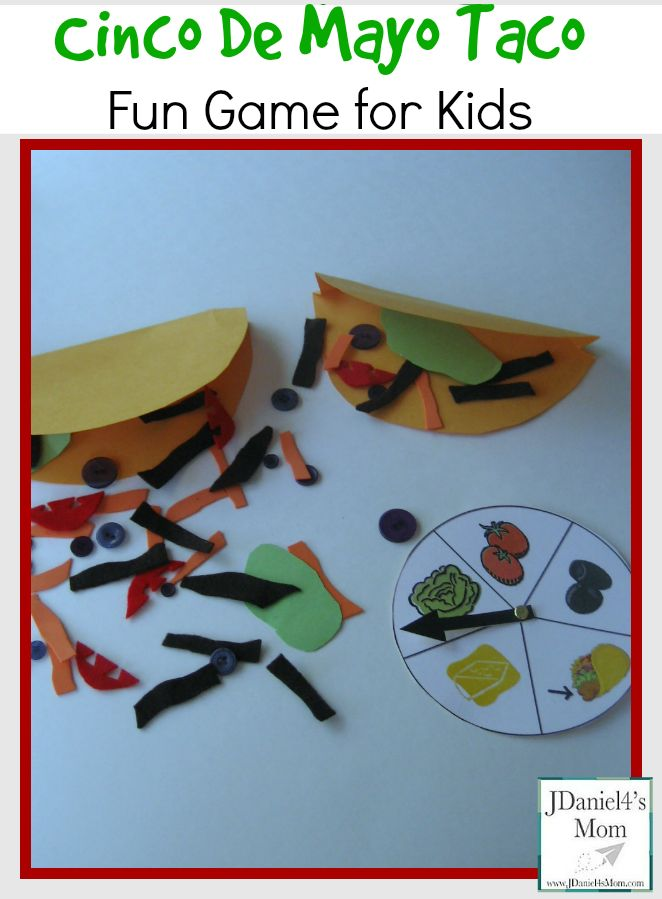 Cinco De Mayo Taco- Fun Game for Kids
