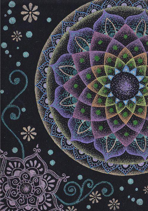 Mandala geometría sagrada