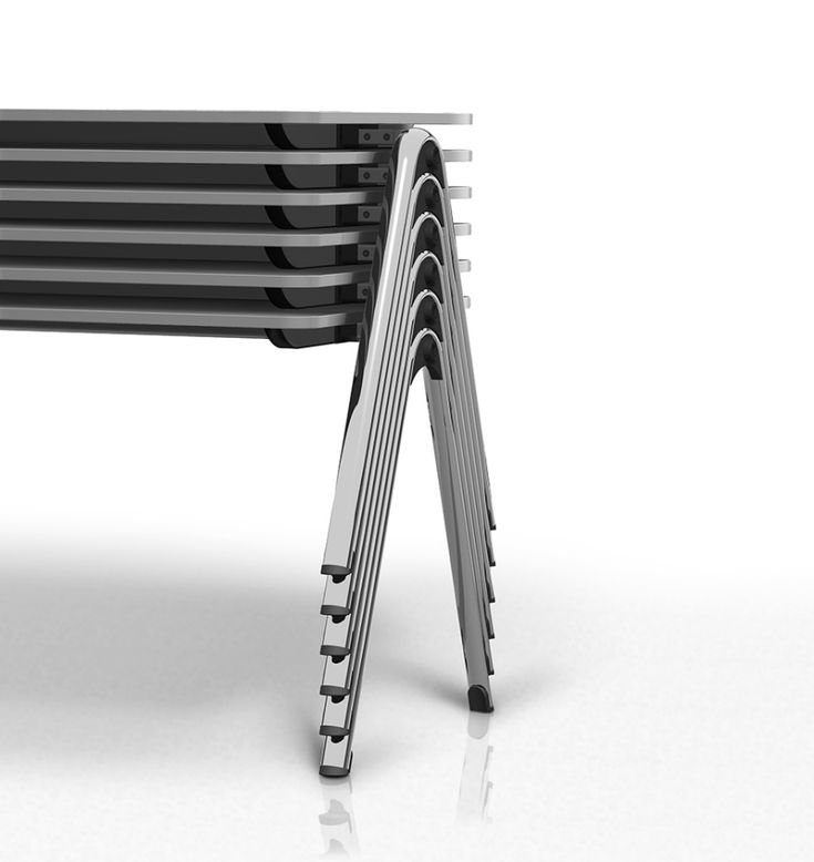 design stacking chairs benches and tables core77