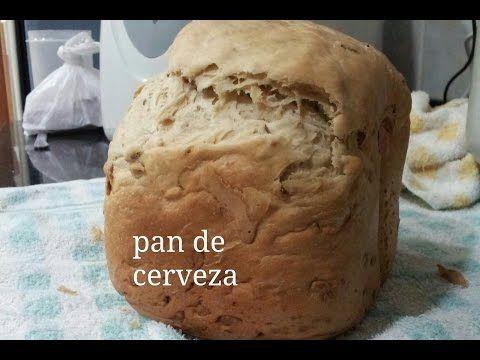 Pan de cerveza en panificadora - YouTube