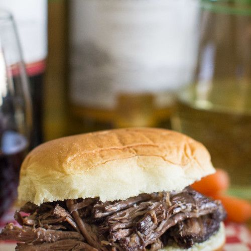 Easy Beef Bourguignon Sandwich for The Game!