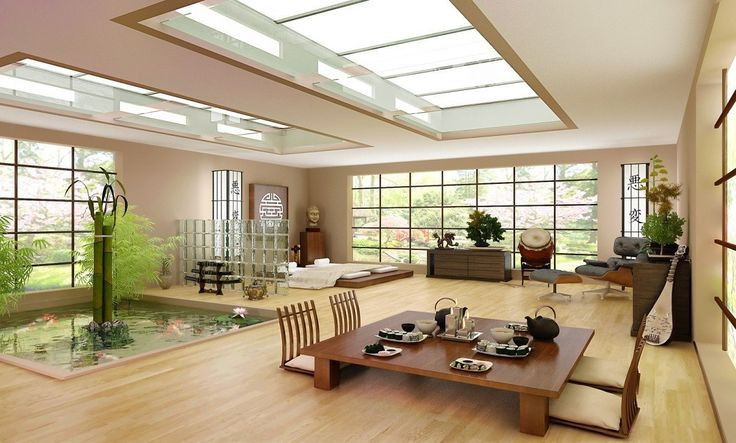 M s de 25 ideas incre bles sobre interior moderno japon s for Jardin japones malaga