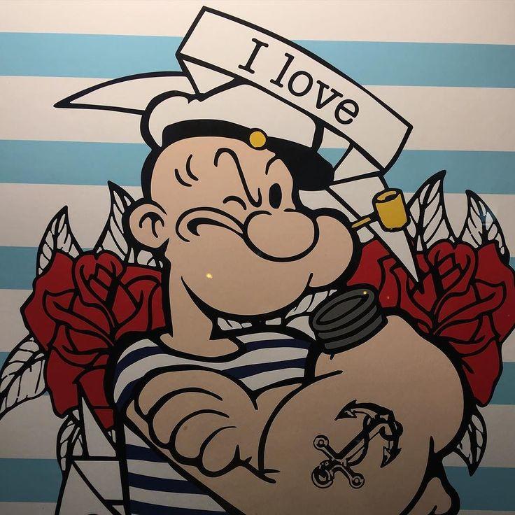 Inspiración #Popeye el marino #JeanPaulGaultier