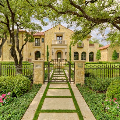 Entrance Fountains Design, Pictures, Remodel, Decor and Ideas - page 19: Idea, Landscape Architects, Leidner Landscape, Style, Mediterranean House, Exterior Design, Photo, Harold Leidner, Mediterranean Exterior