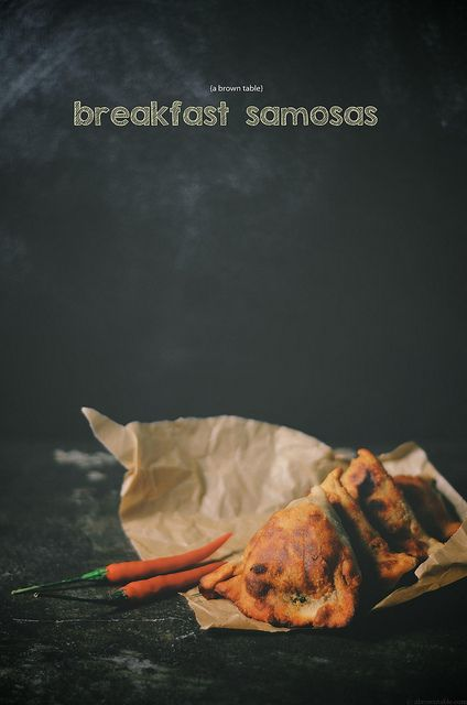breakfast samosa by abrowntable, via Flickr