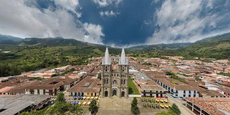 Basílica Menor de la Inmaculada Concepción, Jardín, Antioquia , Colômbia