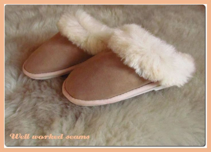 What is so unique in the #simonfur #sheepskin #slippers and #boots. #accessories #style #fashion #fur