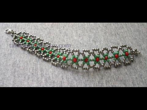 Beads Tutorial: DIY Orecchini Cinderella con superduo - Handmade jewellery - YouTube