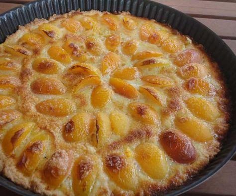 Glutensiz Kayısılı Tart   Bitkiblog.com