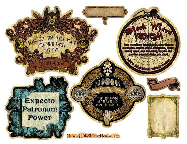 Papercraft Apothecary Jar Labels, Tags & Ideas - Page 10