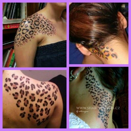 I think it would be cool to get a little section of leopard print tattooed somewhere.