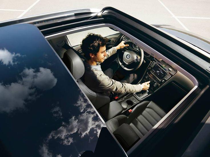 #VW #Golf #Variant daje Cie możliwość obserwacji otoczenia praktycznie z każdego punktu widzenia.