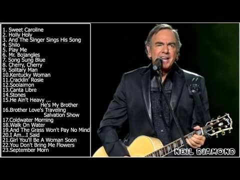 Best Songs Of Neil Diamond (Full Album HD) || Neil Diamond's Greatest Hits - YouTube