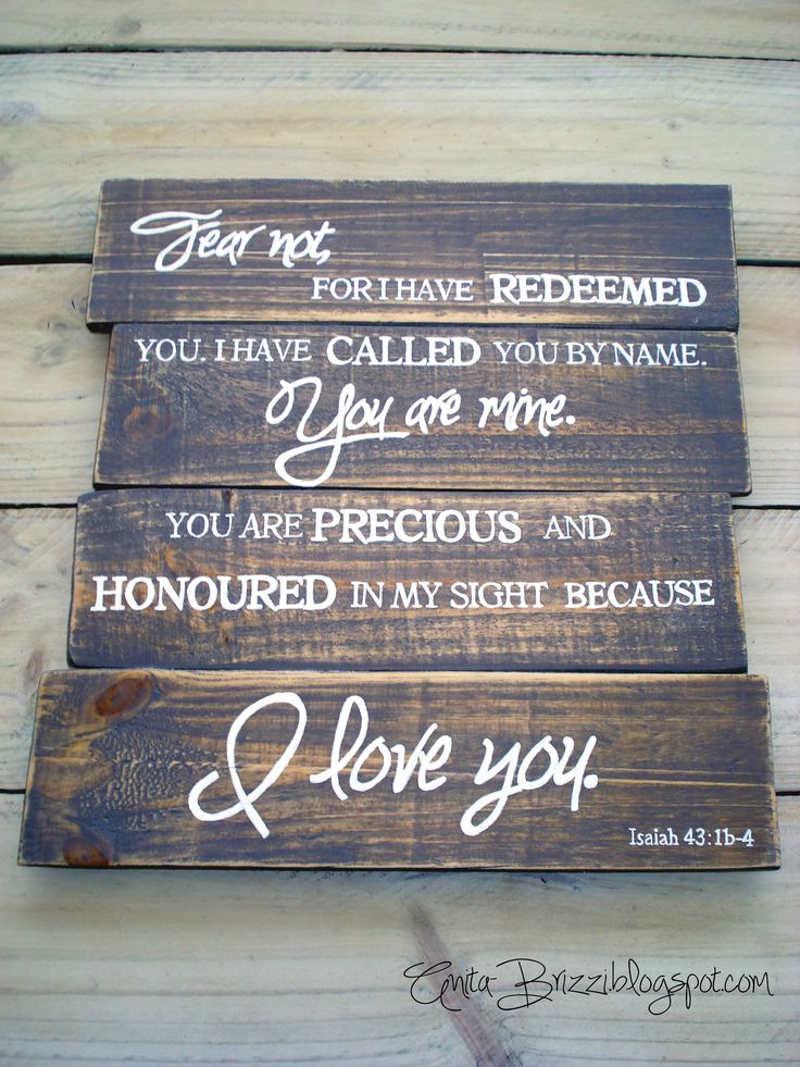 Wooden sign with wedding vows?