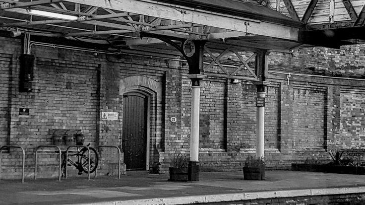 Workington train station. April 2017