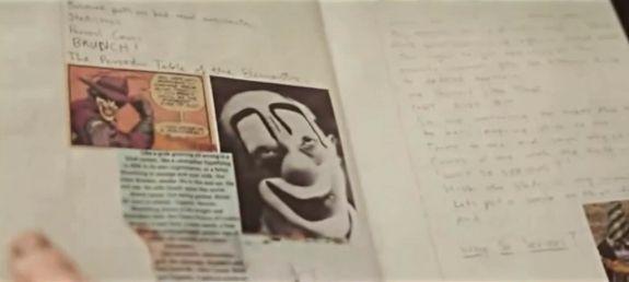 Heath Ledger's The Joker diary...interesting. Honestly I would loveeee to psychoanalyze him :))))))