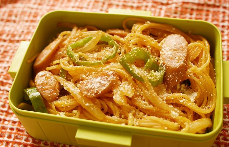 Ep.5 Spaghetti Napolitana (100 Quick&Easy Obento Recipes)