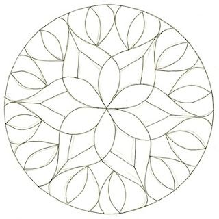 Plain Mandala- from this.....