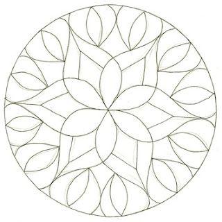 ❤~ Mandala para Colorear ~❤