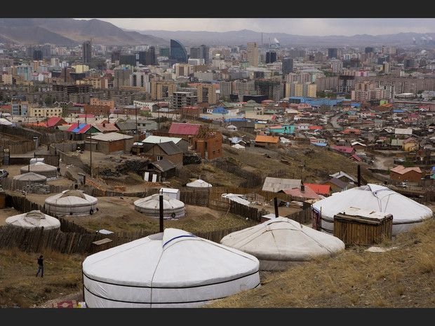 Oulan-Bator, la capitale de la Mongolie