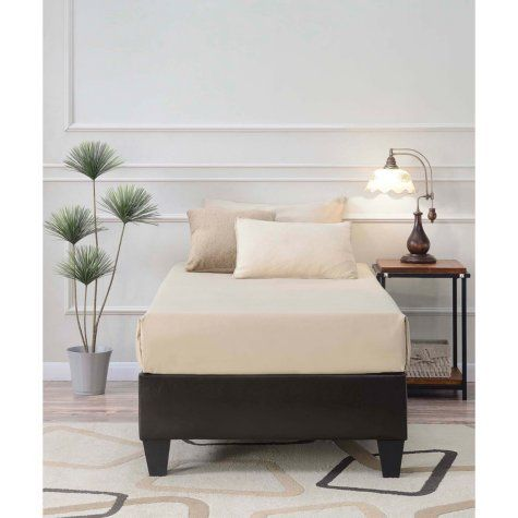Abby Platform Bed Assorted Options King Upholstered Bed Queen