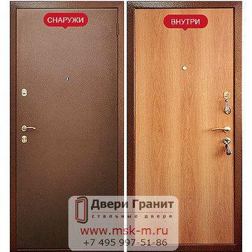 Металлические двери эконом класса от производителя