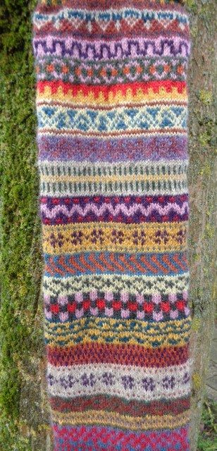 280 best Fair Isle Swatches and Schemes images on Pinterest | Fair ...