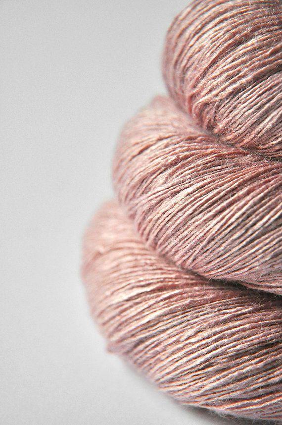 This silk yarn would make AMAZING socks.