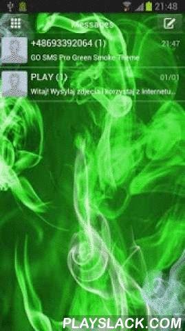 Green Smoke Theme For GO SMS  Android App - playslack.com ,  Afkoelen GO SMS Pro Thema met groene rook layout. Ondertitels hoofdmenu tekstberichten zijn in wit. Sms teksten zijn ook witte, venster SMS-berichten zijn transparant met groene tint. Applicatie iconen voor tekstberichten zijn groene en witte kleur. SMS is een groene achtergrond met motieven van rook, elementen van de achtergrond en de tekst SMS in het wit. Nu kunt u gratis speelse indeling met rook. Download onze applicatie, die…