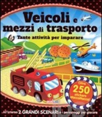Veicoli e mezzi di trasporto. tante attività editore Crealibri  ad Euro 10.96 in #Crealibri #Libri libri per ragazzi