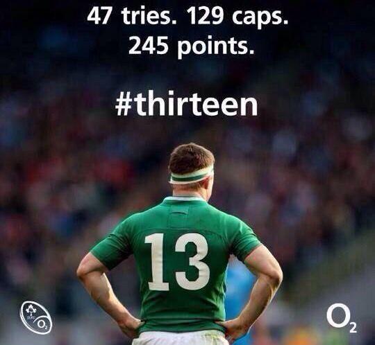 Rugby Brian O'Driscoll
