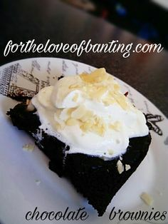 For The Love Of Banting: Decadent Banting Chocolate Brownies