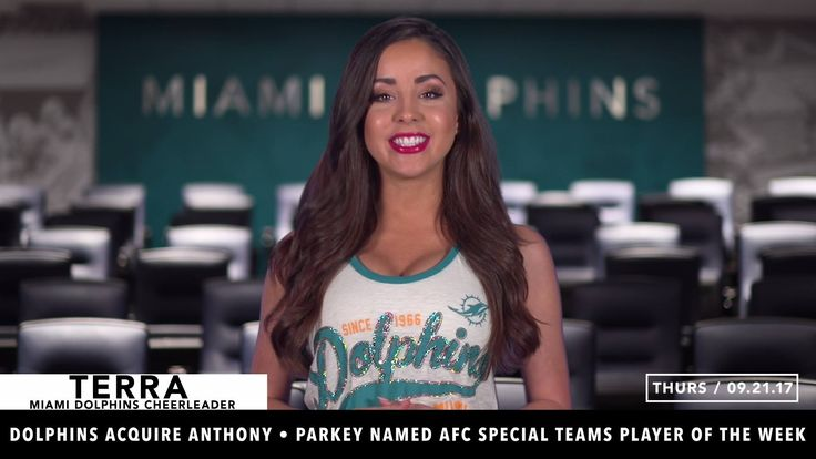 Dolphins Daily: Episode 376 - Miami Dolphins Cheerleaders