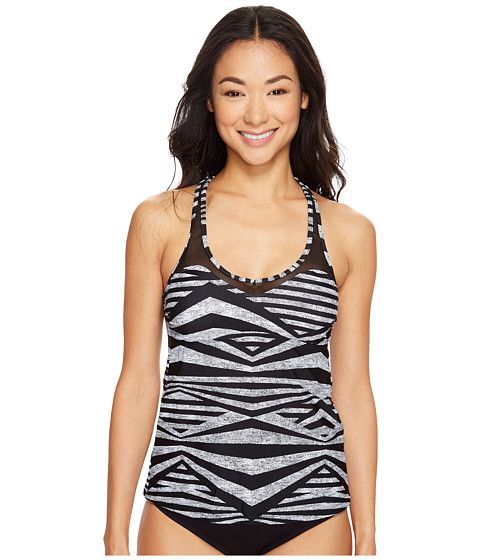 Speedo Mesh Tankini Top