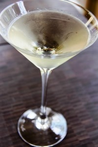 The Coco Chanel Martini is light and floral using Ciroc Coconut Vodka and St. Germaine.