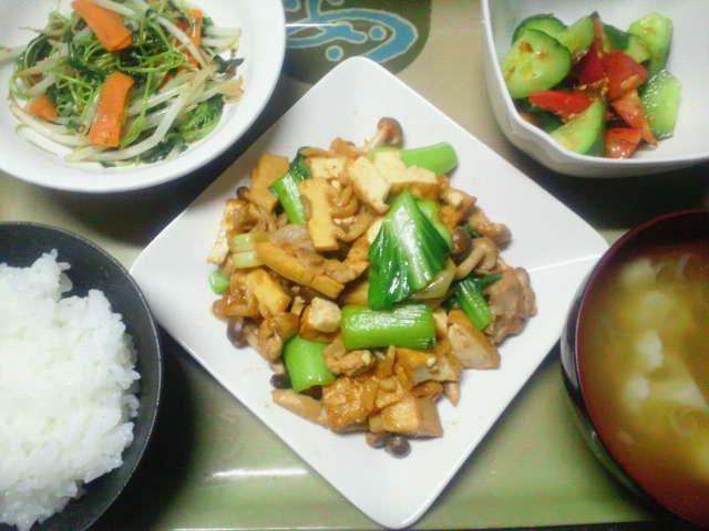 家常豆腐(タニタ食堂レシピ)  こんばんは、花火は見たいが暑いのはイヤなレイブンです(゚-゚)ノ  今年で11...