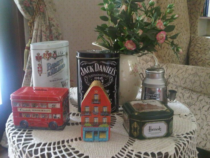 Our London tin collection