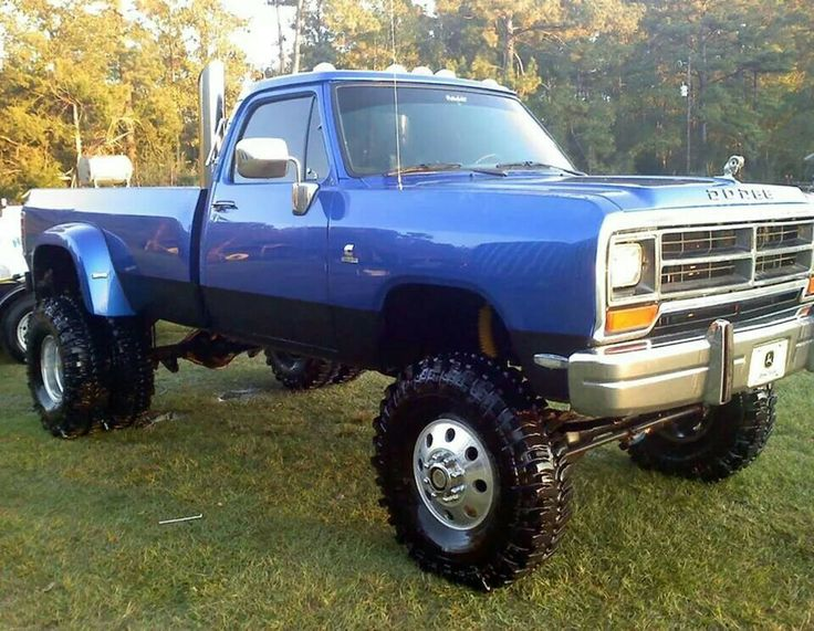 1468 best Mopar trucks Power wagons images on Pinterest Lifted