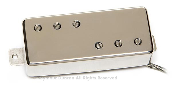 Direct replacement for Gibson® mini humbuckers or Firebird® pickups. Custom engraving available on request - call for price quote. Available in neck and bridge sets for $320