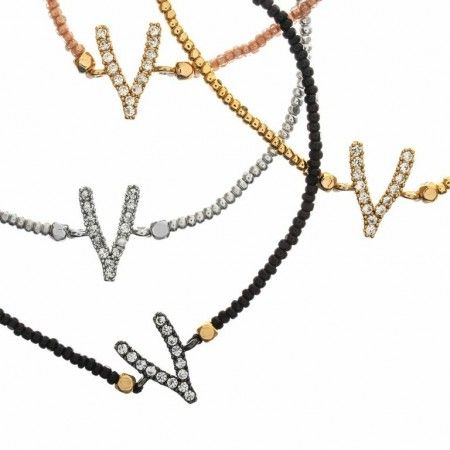 Wishbone Beaded Bracelet