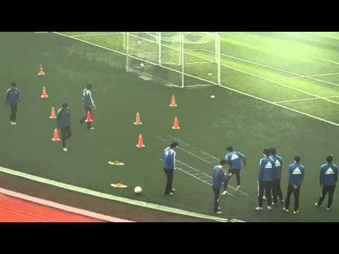 Football Agility Ladder Exercises Drills by Soccer Players
