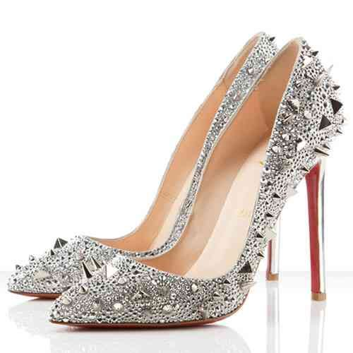 Christian Louboutin Shoes Studded Pumps