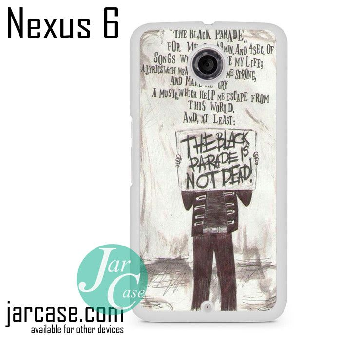 My Chemical Romance Lyrics Phone case for Nexus 4/5/6