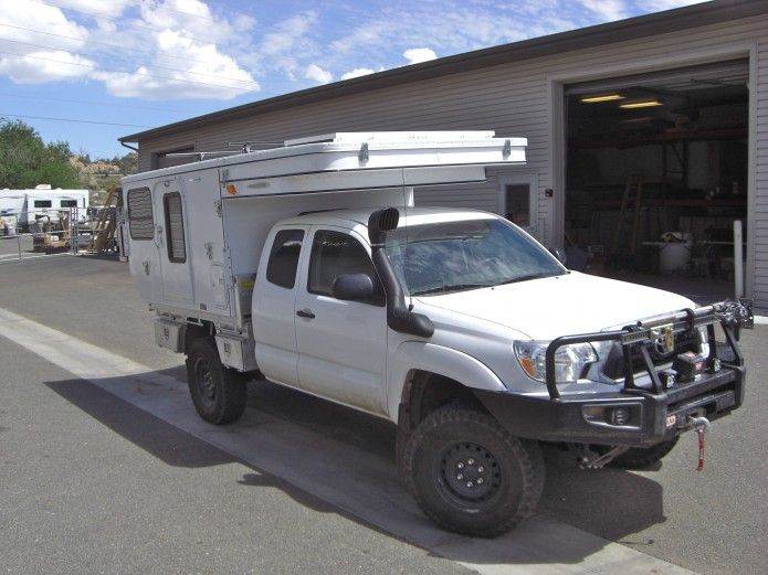 Four Wheel Campers Flatbed Camper Toyota Camper