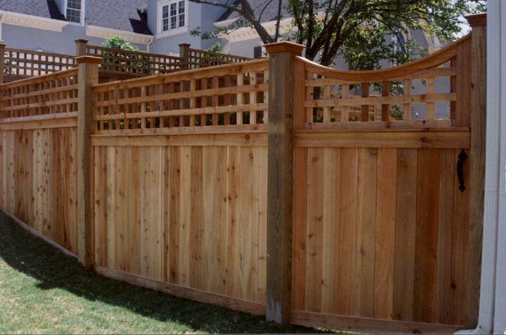 Custom Cedar Fence Amp Gate Designs Allied Fence With