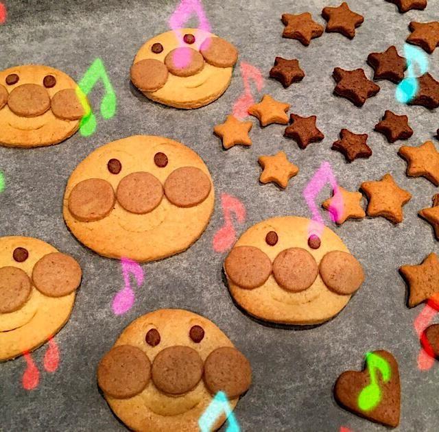 クッキー アンパンマン 子供が喜ぶアンパンマンクッキーを作ろう