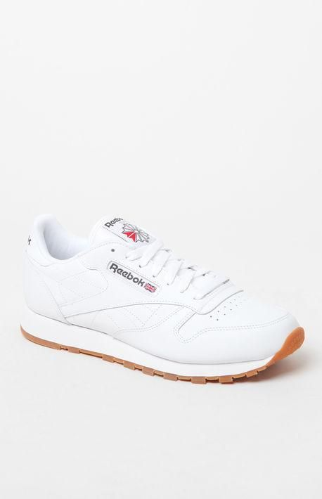 new concept e32a8 2ac66 Classic Leather White Shoes